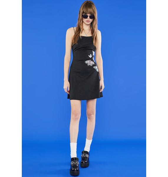 dELiA*s by Dolls Kill Butterfly Kiss Mini Dress