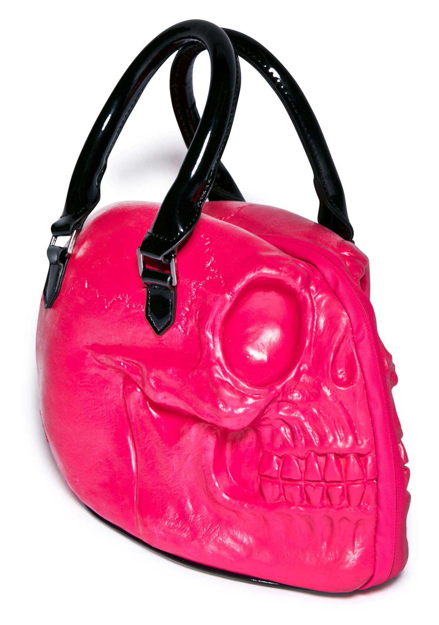 Kreepsville 666 Skull Collection Hand Bag