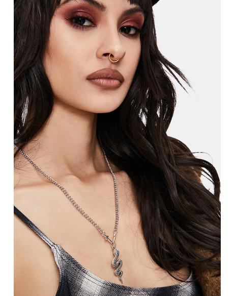 Holy Snakes Chain Necklace