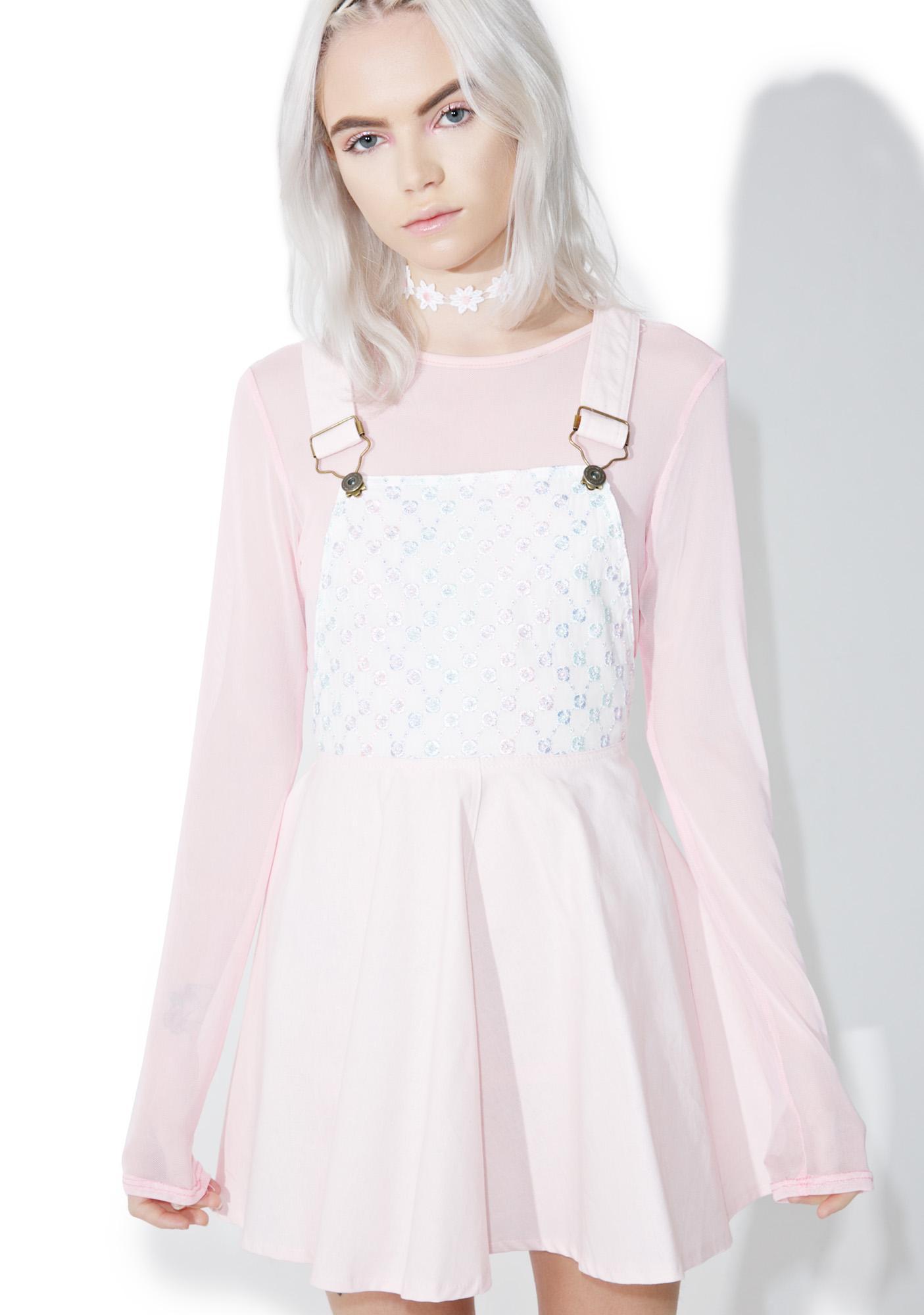 Kawaii Pastel Overall Dress | Dolls Kill