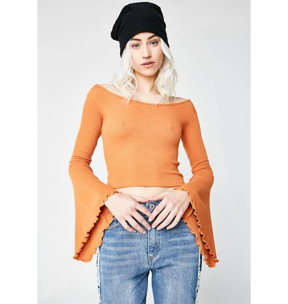 Dream Girl Bell Sleeve Top