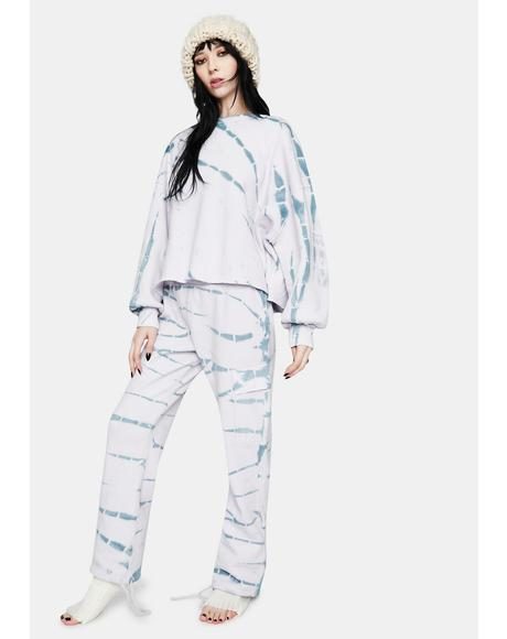 Nikki Tie Dye Cargo Pants
