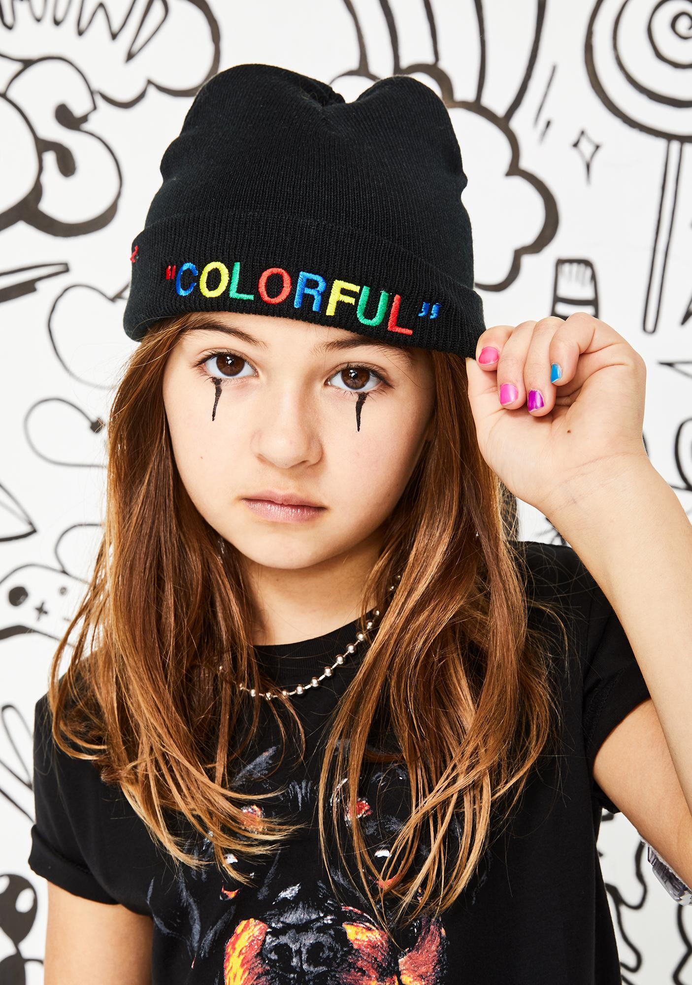 A.B.C. Kidswear Colorful Beanie