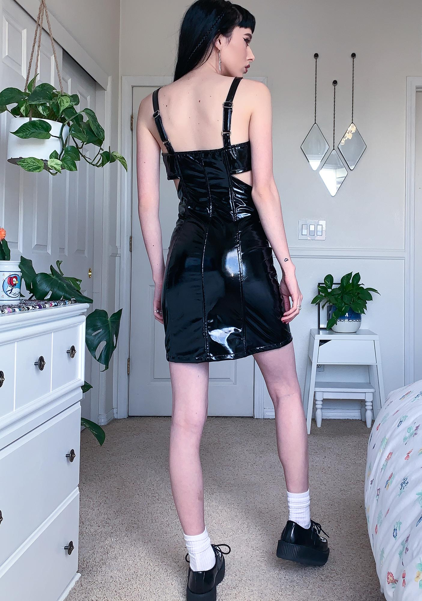 Tripp NYC Phaze PVC Mini Dress