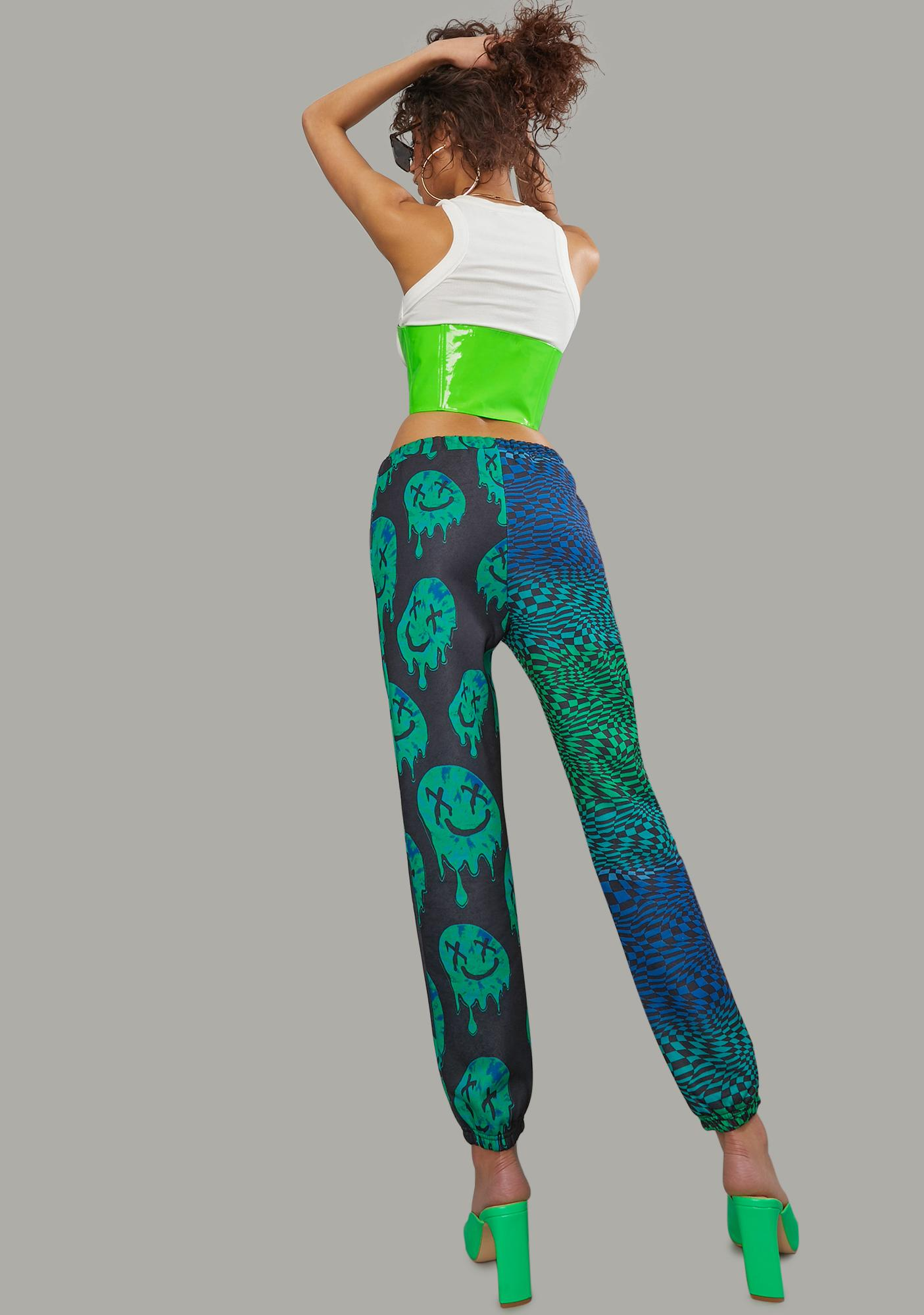 Poster Grl Slime Takeover Smiley Joggers