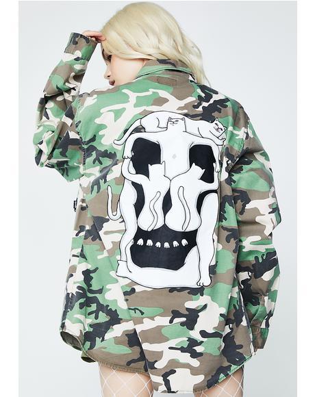 Nerm Skull Army Jacket