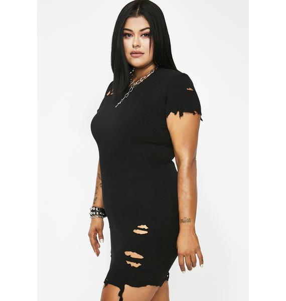 Kiki Riki Vicious Pack Leader Distressed Dress