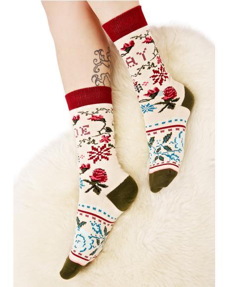 Slay Ride Tomboy Socks