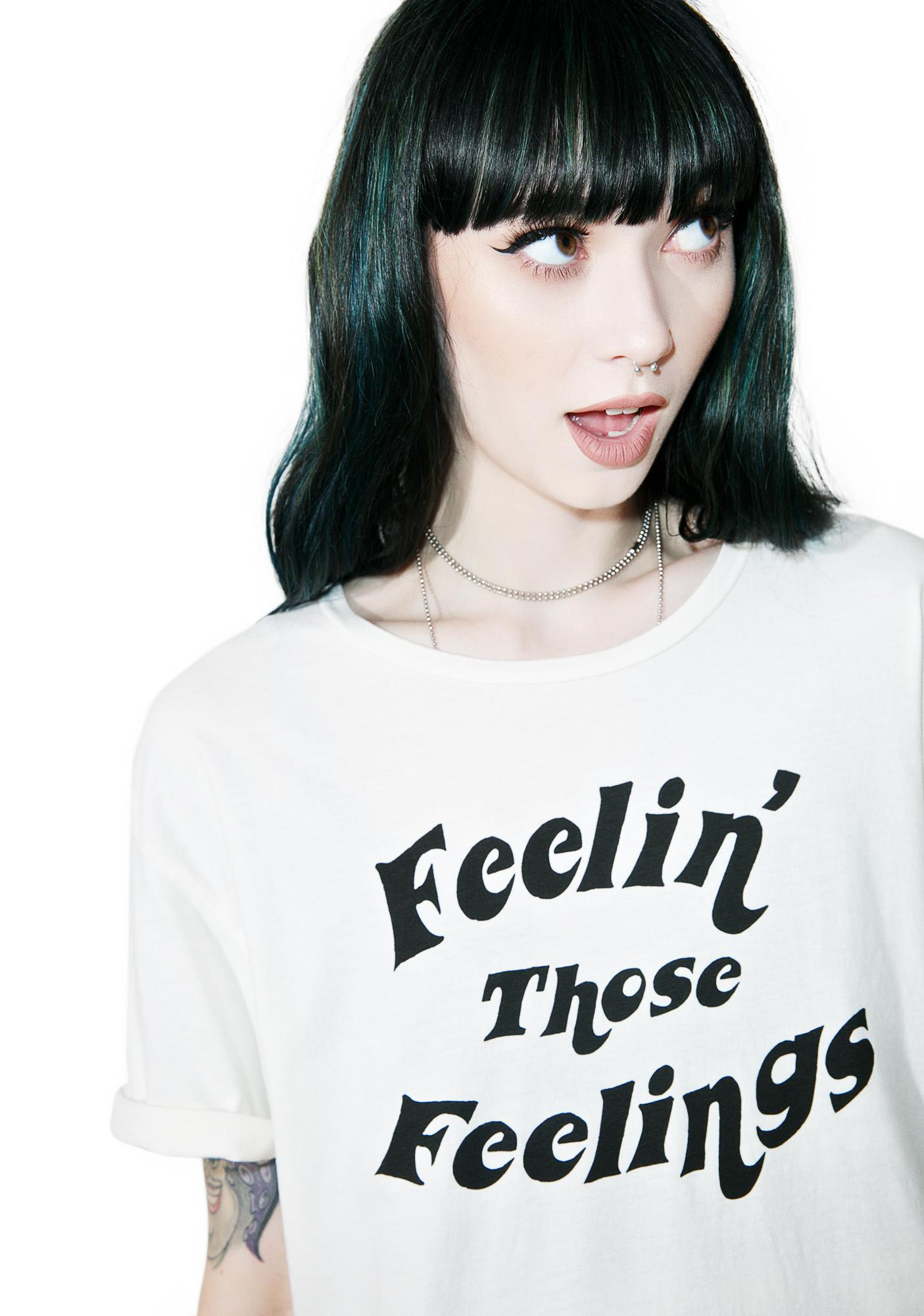 Hips and Hair Feelings Tee
