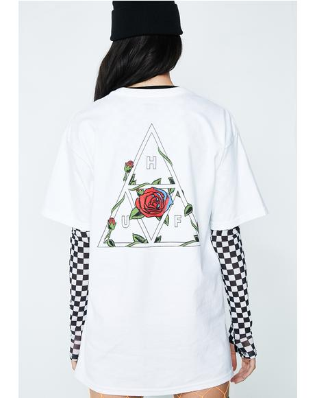 Roses Triple Triangle Tee