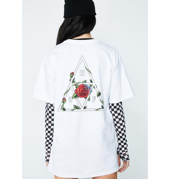 HUF Roses Triple Triangle Tee