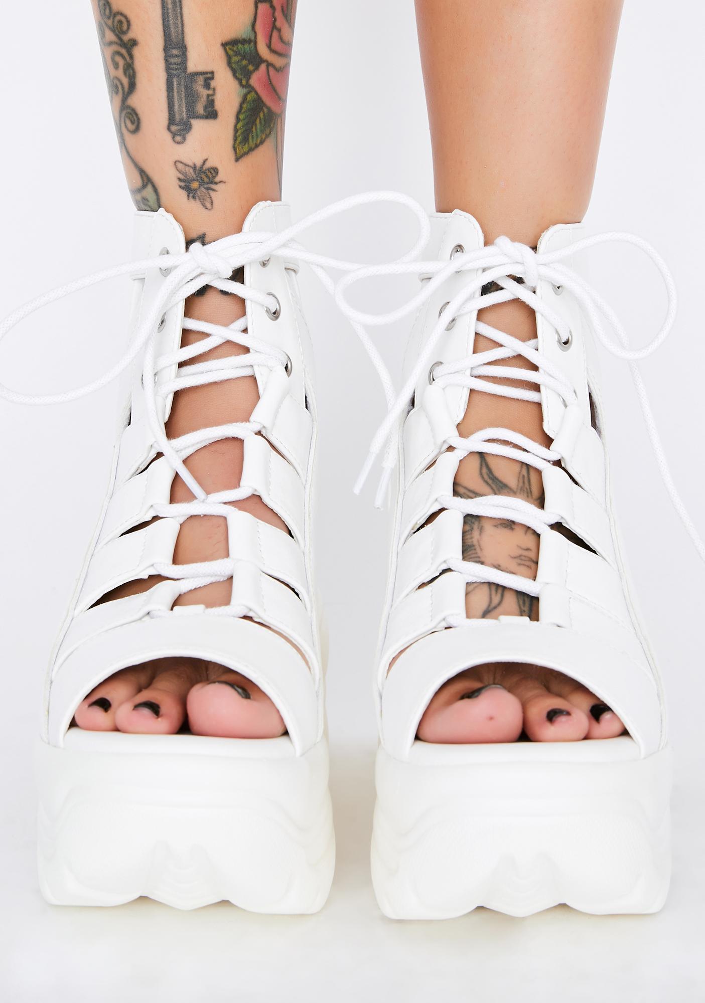 Y.R.U. Medusa Open Toe Sandals