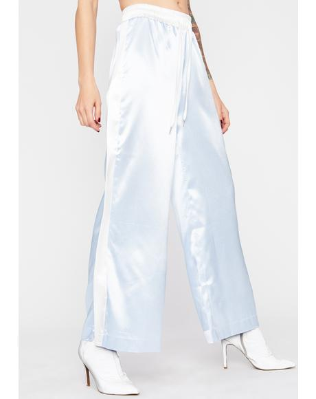 Sweet N Chic Satin Pants