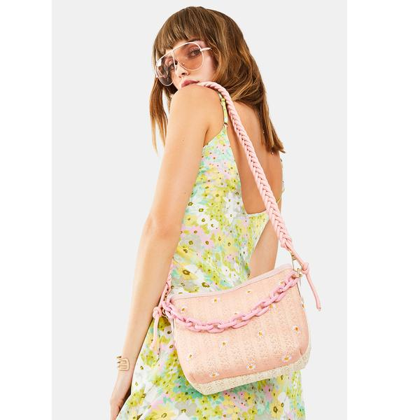 Lazy Daze-y Embroidered Crossbody Bag