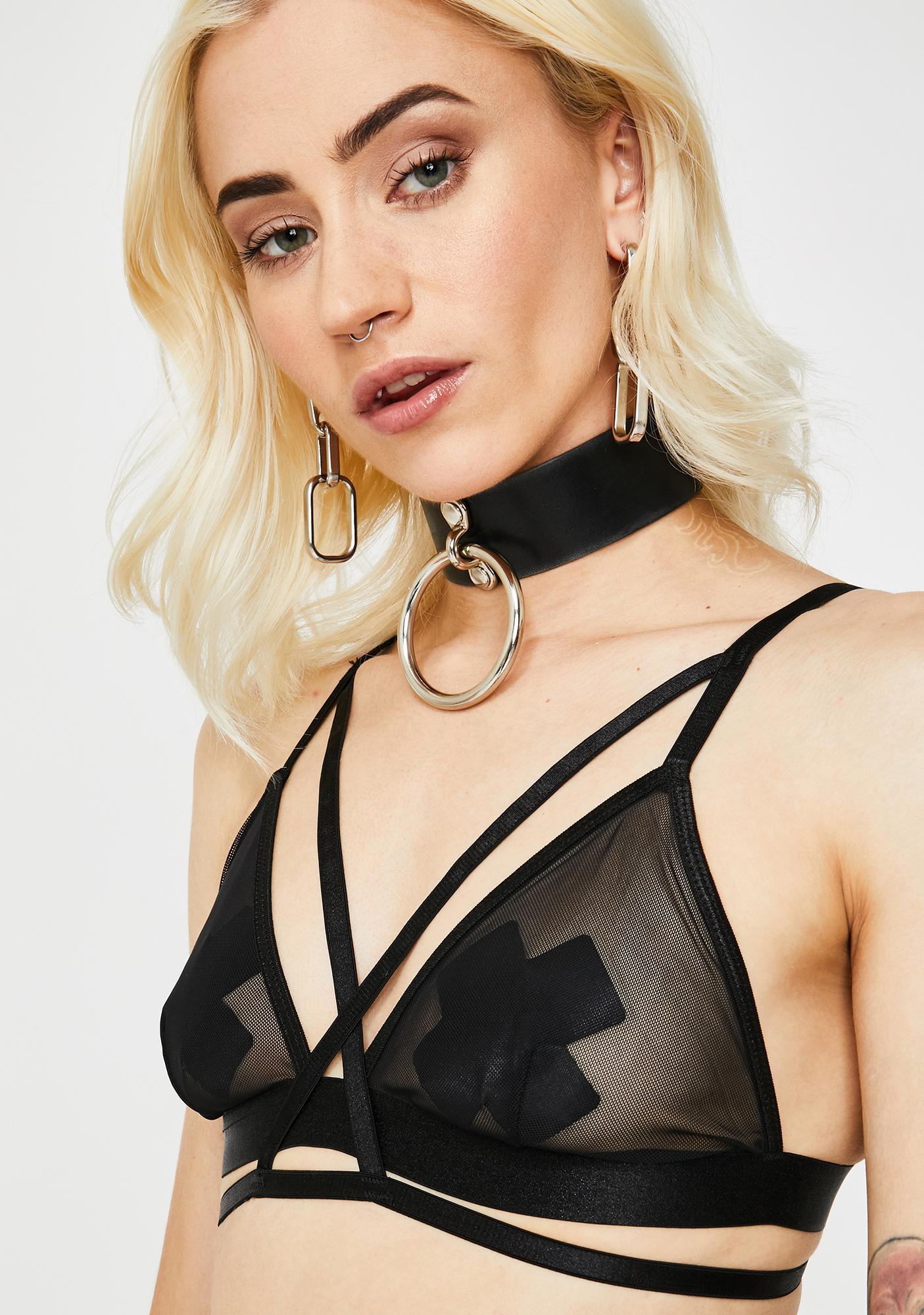 Disturbia Lilith Mesh Bralette