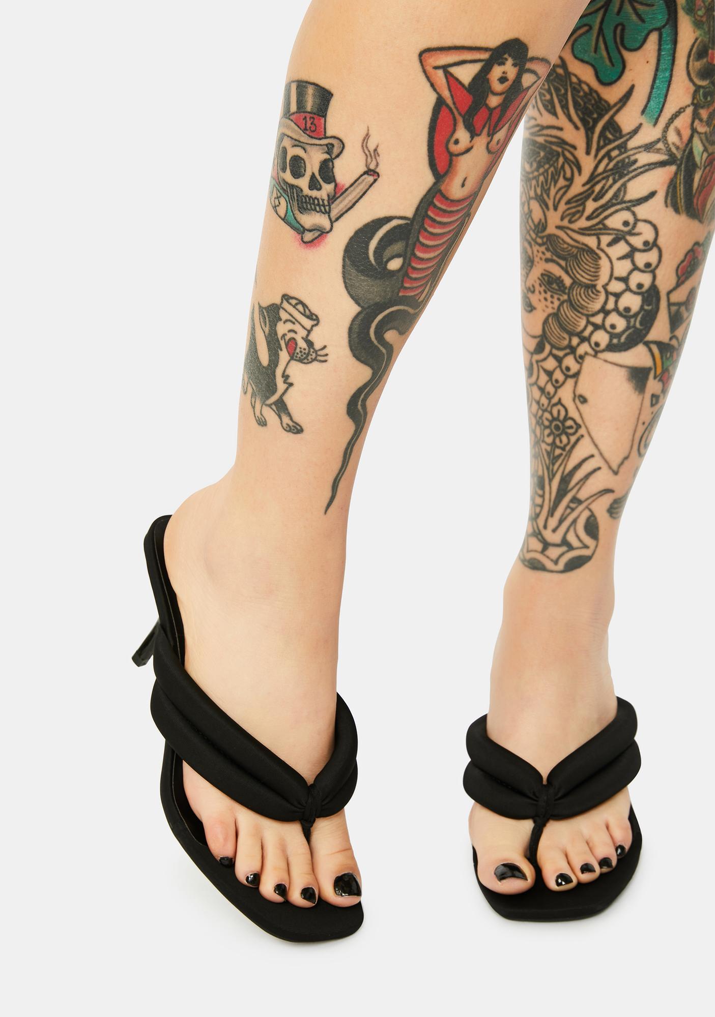 Nox Highly Requested Kitten Heels