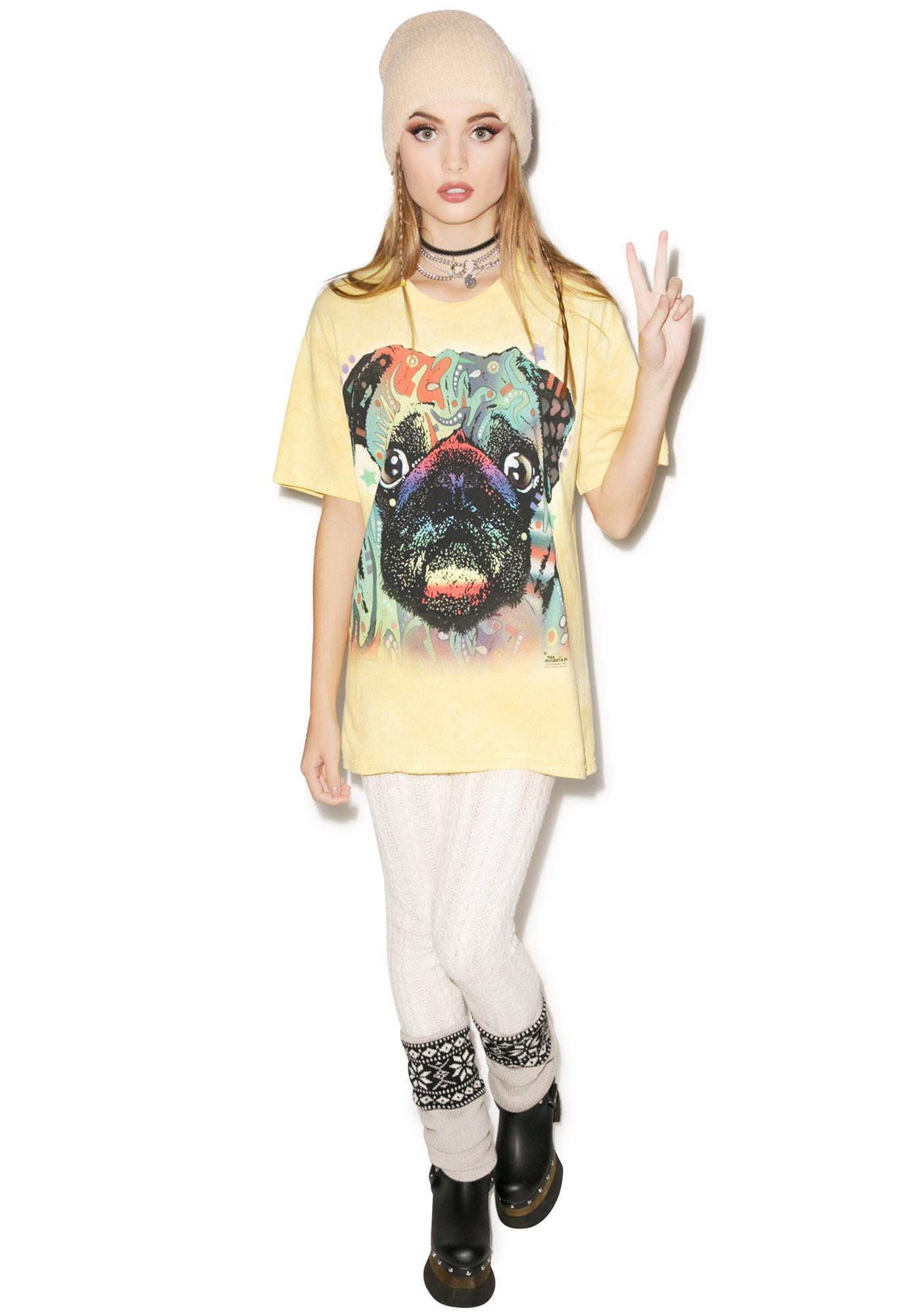 Colorful Pug Tee