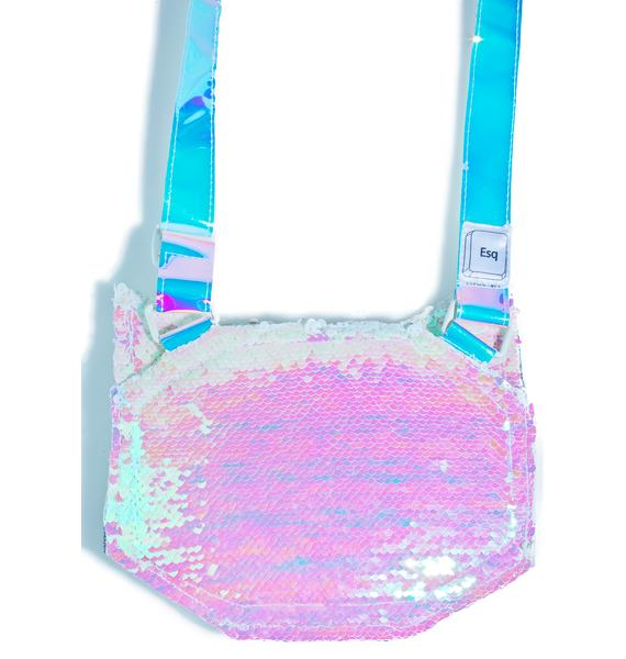 ESQAPE Feline Sequin Bag