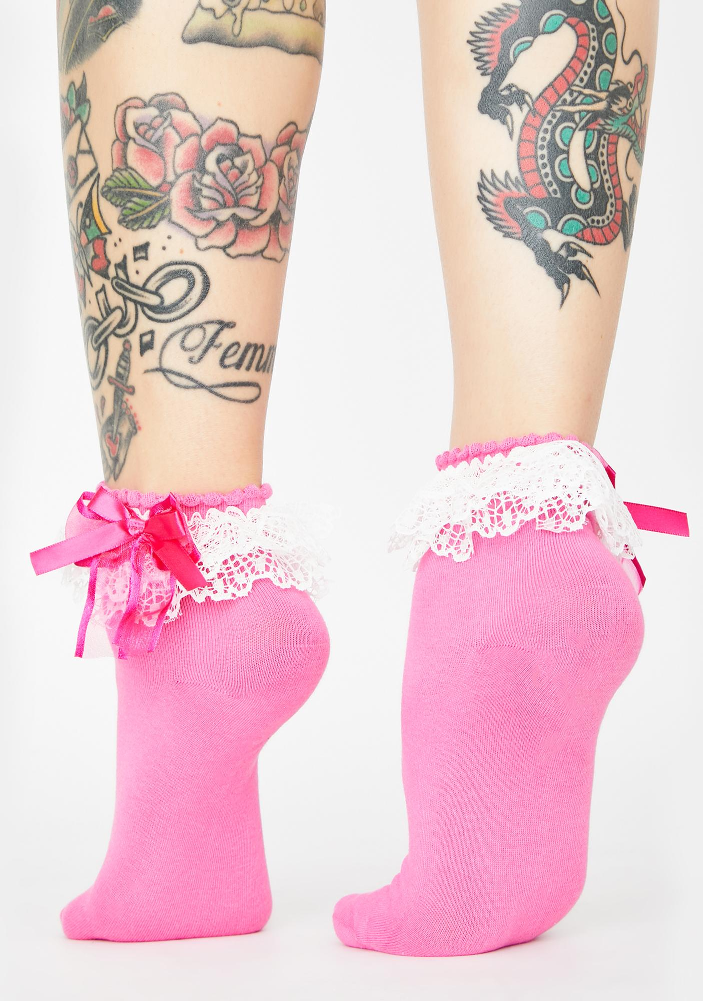 Baby Well Mannered Ruffle Socks