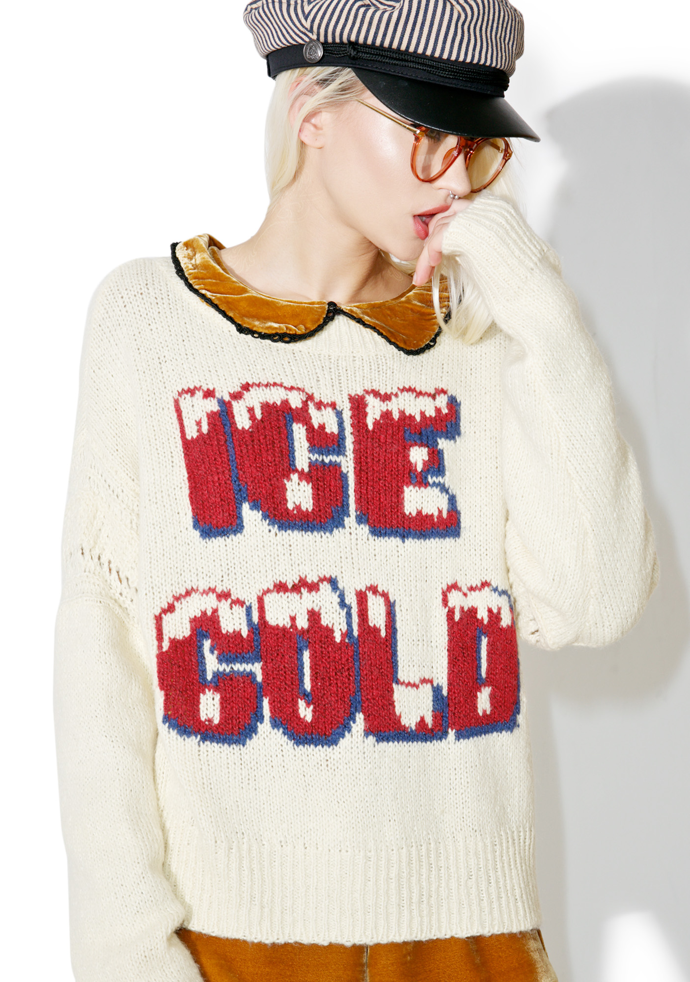 Wildfox Couture Freezin� Ice Cold Sweater