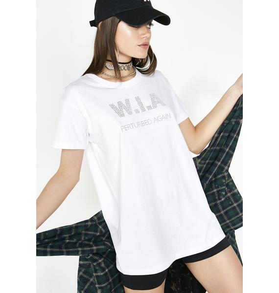 W.I.A Perturbed Basic T-Shirt