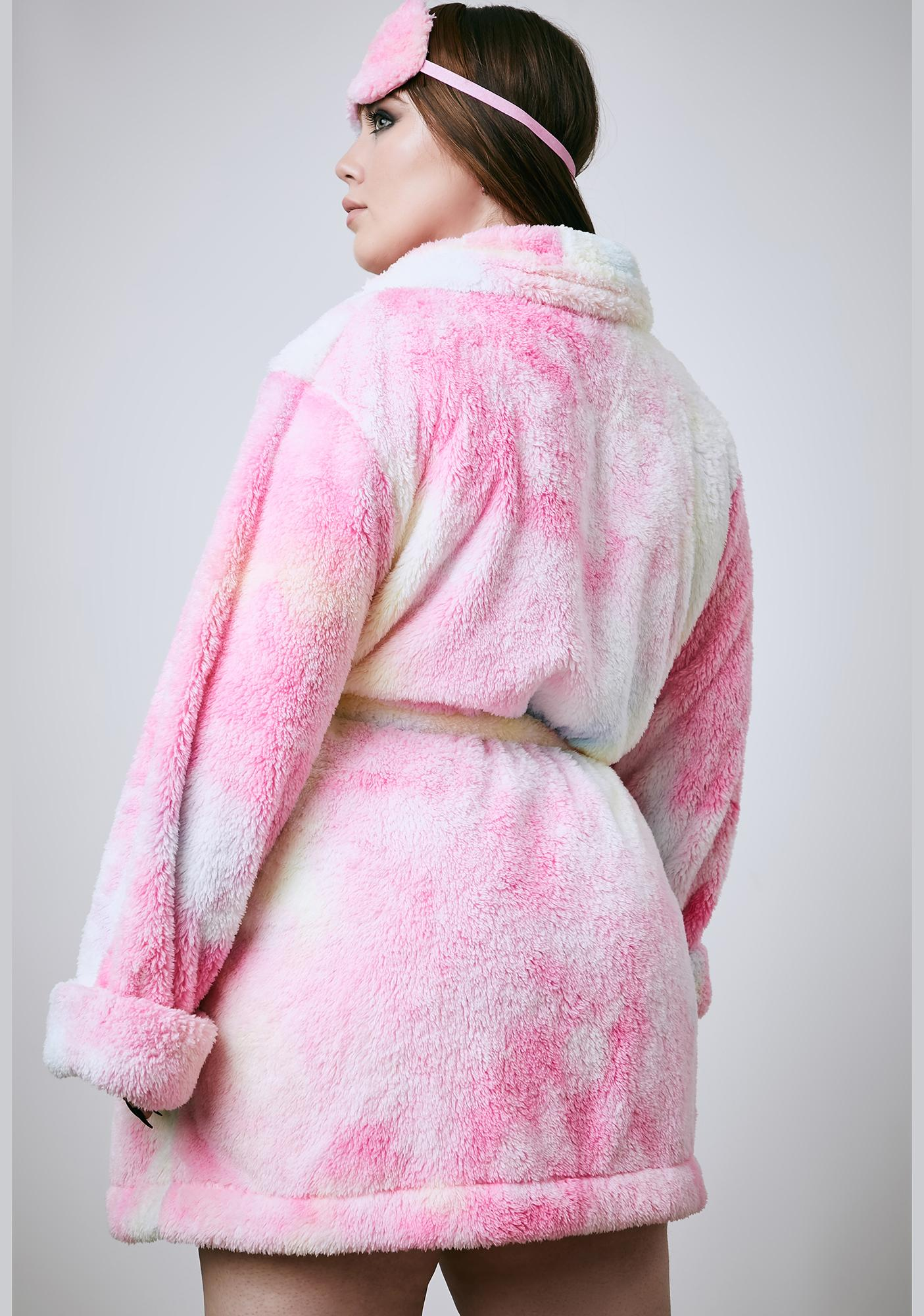 Current Mood Sweet Her Pixie Moonshine Tie Dye Robe Set