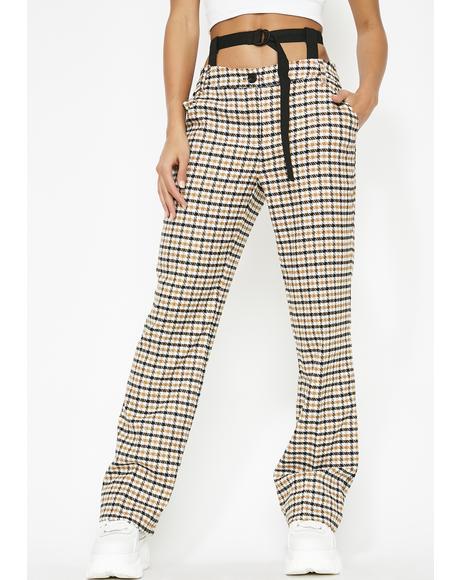 Declassified Houndstooth Pants
