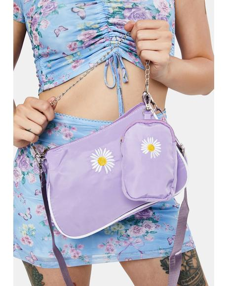 Like A Daisy Crossbody Bag & Pouch Set