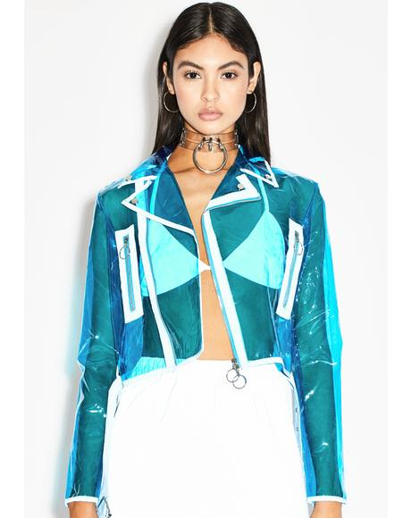 Crystal Complex Moto Jacket