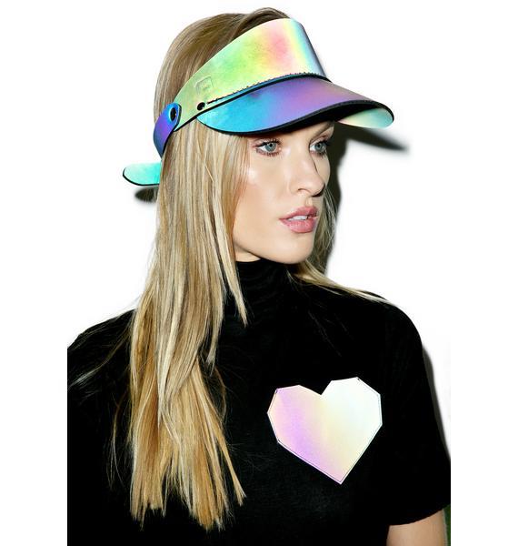 ESQAPE Rainbow Reflective Shade Visor