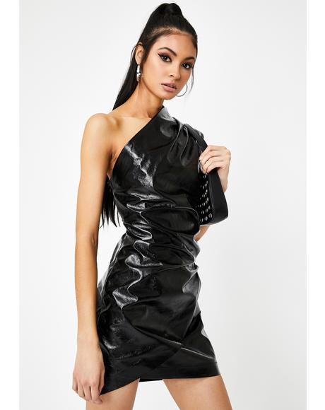 Black Life Of The Party Mini Dress