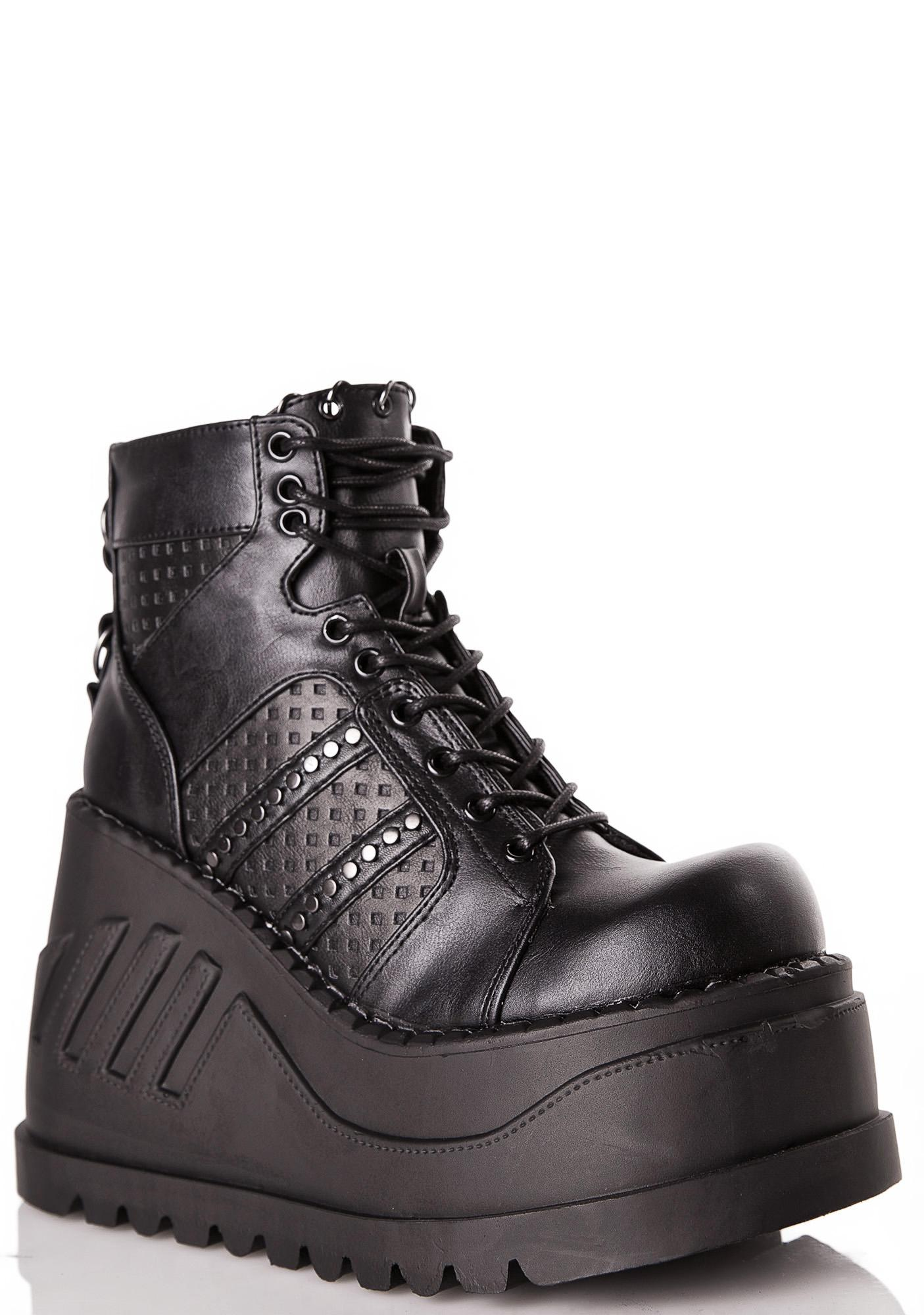 Demonia Analog Stomp Boots