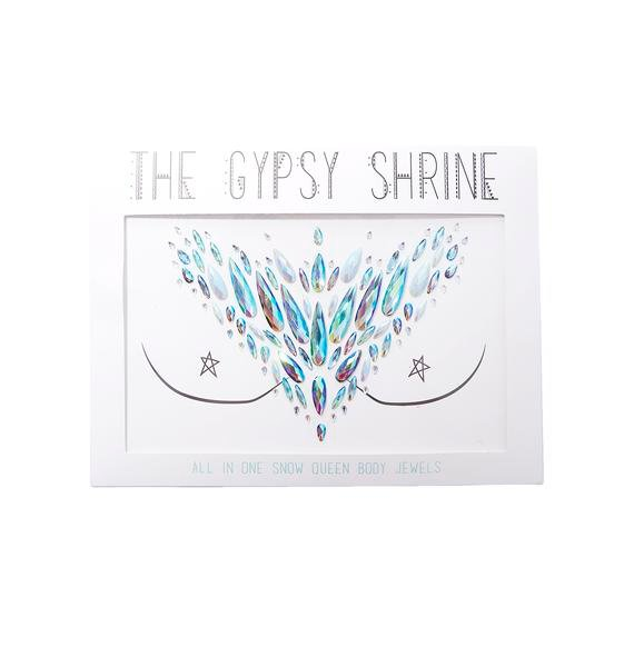 The Gypsy Shrine Snow Queen Jewel Chest Piece