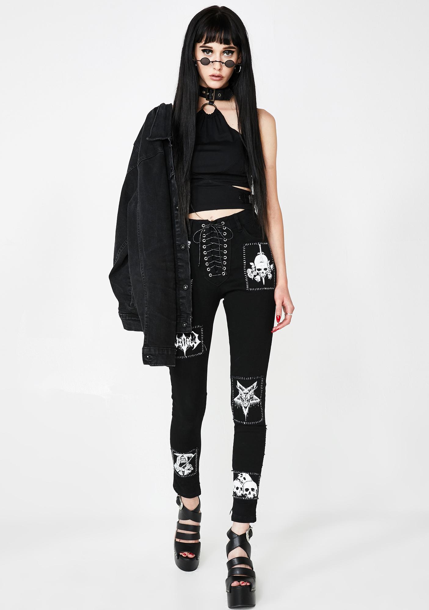 Kiki Riki Punk Mode Halter Top