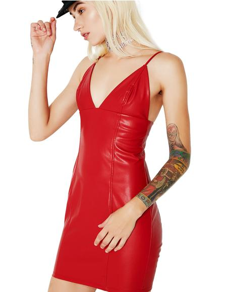 Blazing Inferno Bodycon Dress
