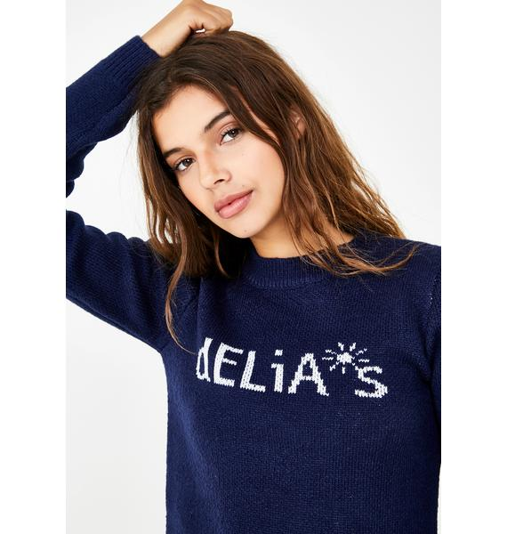 dELiA*s by Dolls Kill  Double Scoop Delia's Sweater