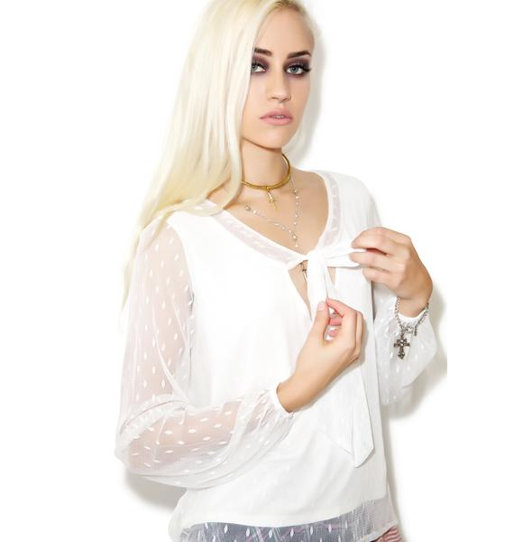 For Love & Lemons Lil Darlin Blouse