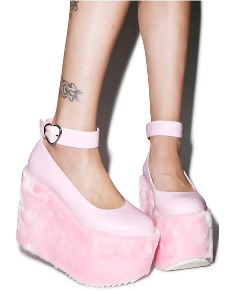 Faux Real Candy Mary Jane Platforms