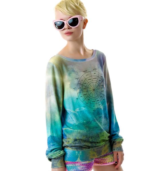 Wildfox Couture With You, Without You Baggy Beach Jumper