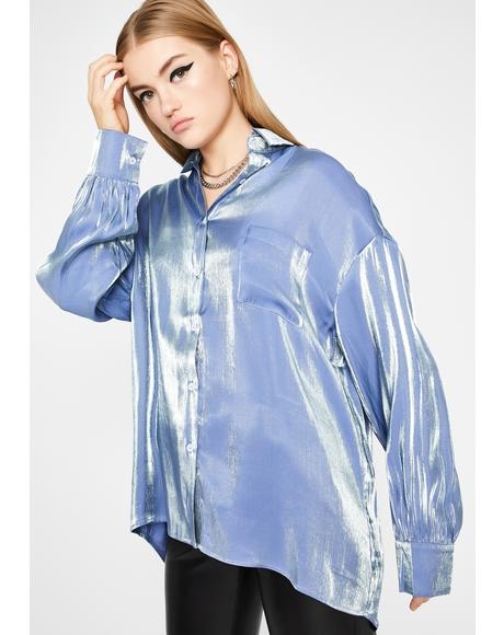 Wavy Hidden Finesse Long Sleeve Top