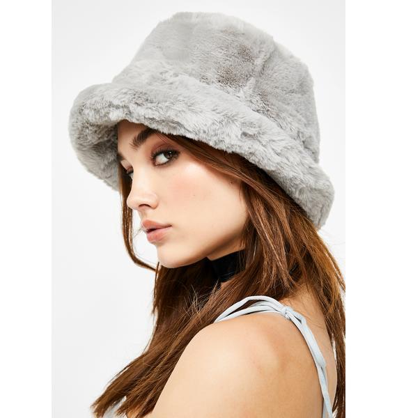 Here We Go Furry Bucket Hat