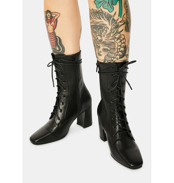 4TH & RECKLESS Avri Lace-Up Boots