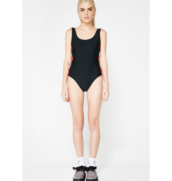 Lazy Oaf Heart Breaker One Piece Swimsuit