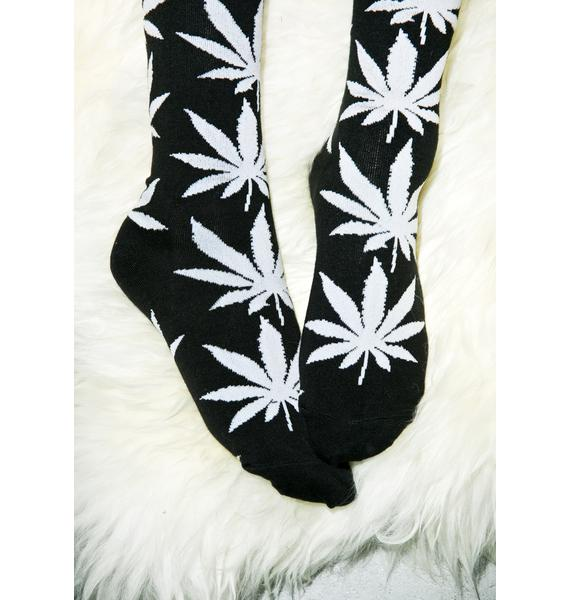 HUF Plantlife Thigh High Socks