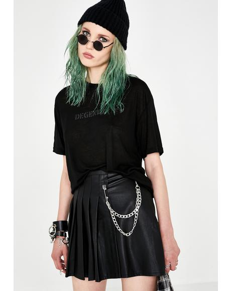 Stuck In Detention Pleated Skirt