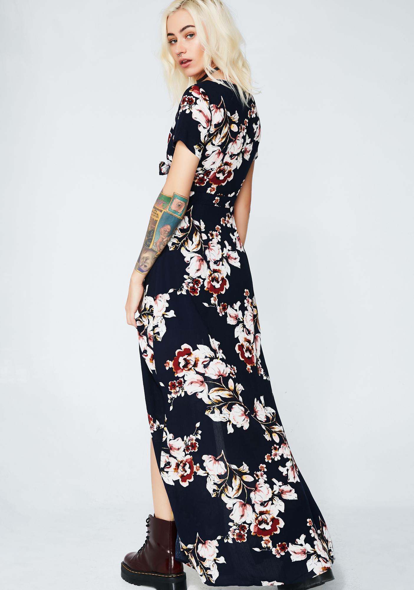 Floral Fantasies Maxi Dress