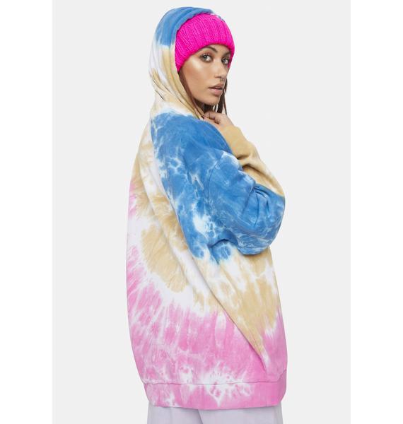 Kiki Riki Next Journey Tie Dye Hoodie