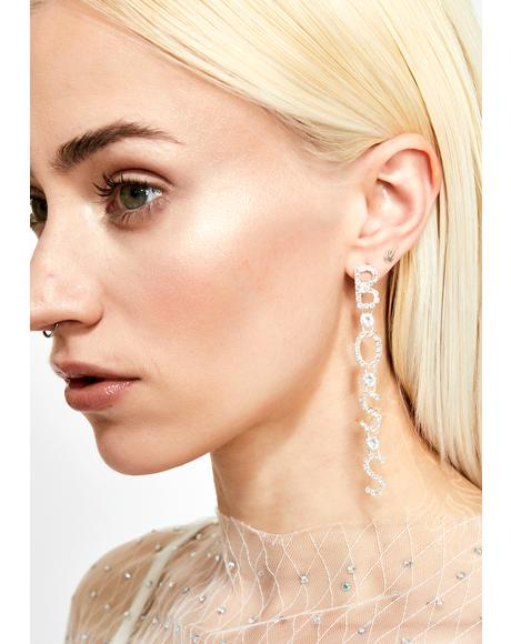 HBIC Boss Earrings