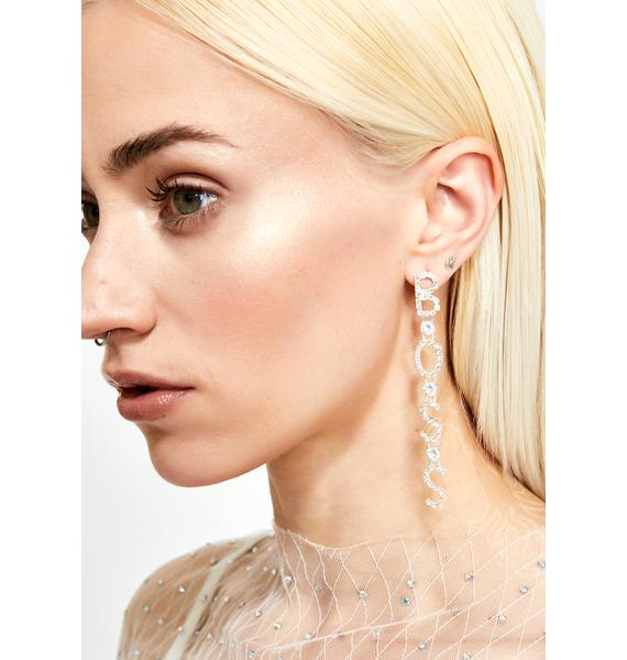 HBIC Boss Earrings