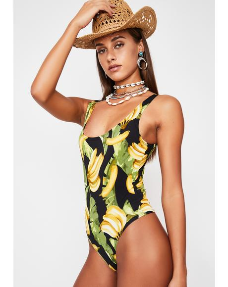 Tropical Killa Swag Knit Bodysuit
